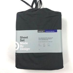 Target Made By Design Flat Grey Sheet Set